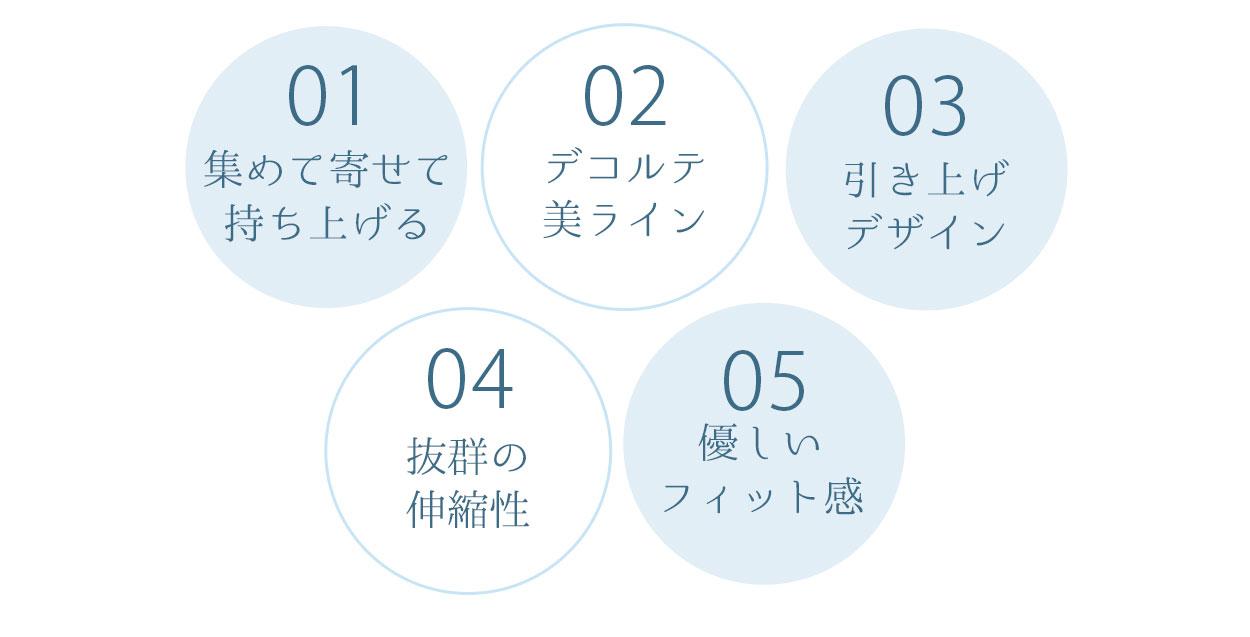 ハグミーブラレット5つのおすすめポイント一覧