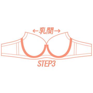 円郭さらに狭めステップ3のブラ